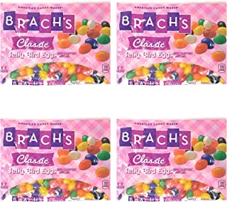 Brachs Classic Jelly Bird Eggs Candy Jelly Beans - Pack of 4 Bags - 18 oz Per Bag (4 Bags, 72 oz total)