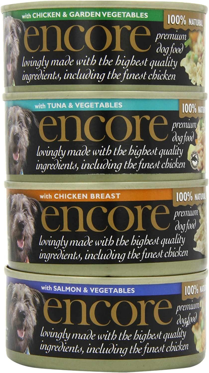 Encore Dog Tin Multipack Supreme Selection 5 x 156g, Pack of 4