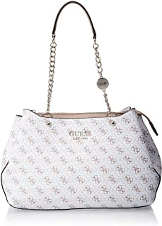 Guess Womens Satchel Bag, White - SG767109