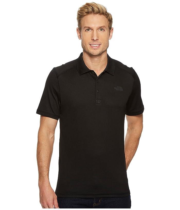 The North Face Short Sleeve Horizon Polo (TNF Black) Men