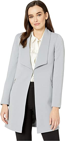 Double Weave Open Topper Jacket
