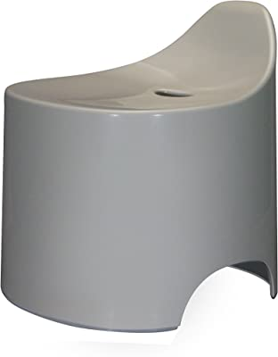 シンカテック 風呂椅子 デュロー バススツール N グレー Drp-Gy