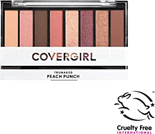Covergirl Trunaked Scented Eye Shadow Palette, Peach Punch 840, 0.22 Ounce, Pack of 1