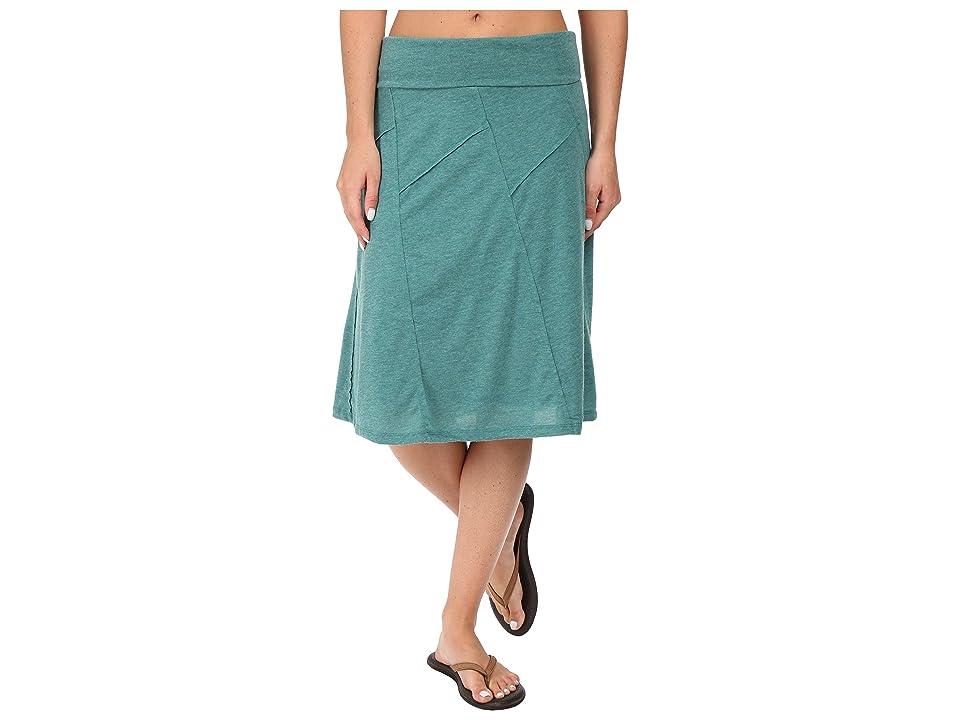 Prana Daphne Skirt (Harbor Blue) Women
