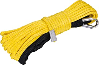 Tungsten4x4 Synthetic Winch Rope Line Cable for Truck/SUV/Trailer/Jeep/ATV / UTV winches (9mm)