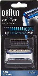 Mens Braun 20S Cruzer Replacement Foil & Cutter Head