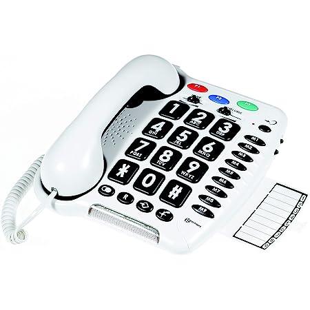Geemarc Cl100 Schwerhörigen Schwersehenden Seniorentelefon Einfache Installation Deutsche Version Gewerbe Industrie Wissenschaft