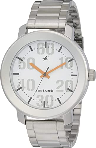 Fastrack Casual Analog White Dial Men's Watch NM3121SM01 / NL3121SM01