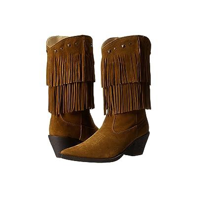 Roper Short Stuff (Tan) Cowboy Boots