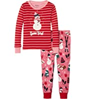 Hatley Kids - Snow Tired Pajama Set (Toddler/Little Kids/Big Kids)