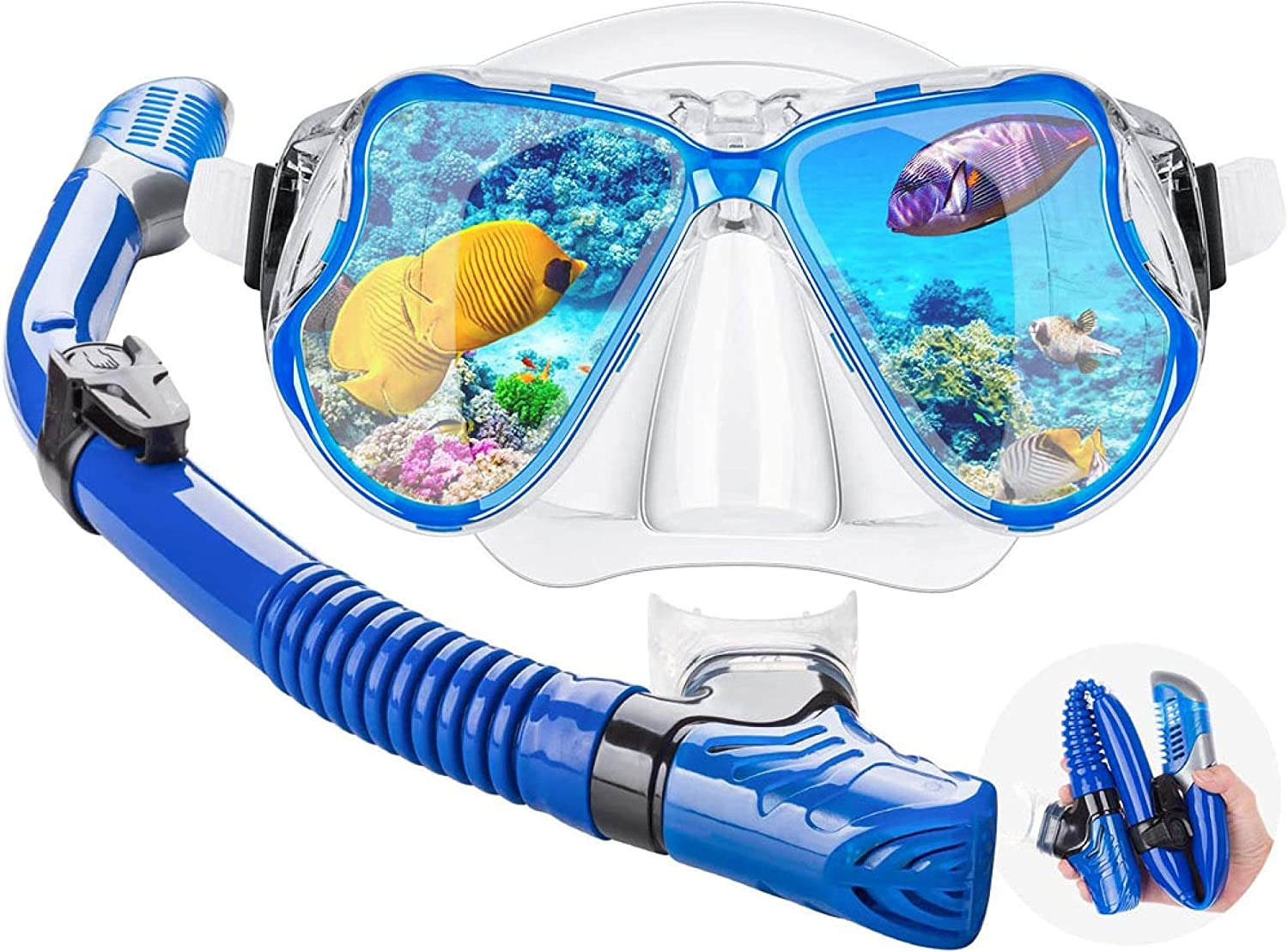 Adult High-End Foldable Full-Dry Tube Max 45% Oakland Mall OFF Diving Silicone Breathing