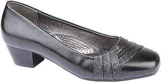 [Boulevard] ブールバール レディース レプタイルディテール パンプス 婦人靴 ローヒール 女性用