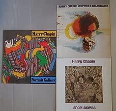 HARRY CHAPIN Portrait, Verities & Short Stories LP Vinyl VG Cover VG+ 3 Lot