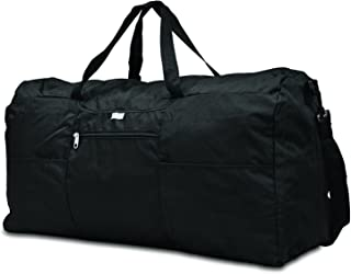 Foldaway Duffle Extra Large Duffel Bag, Black, One Size