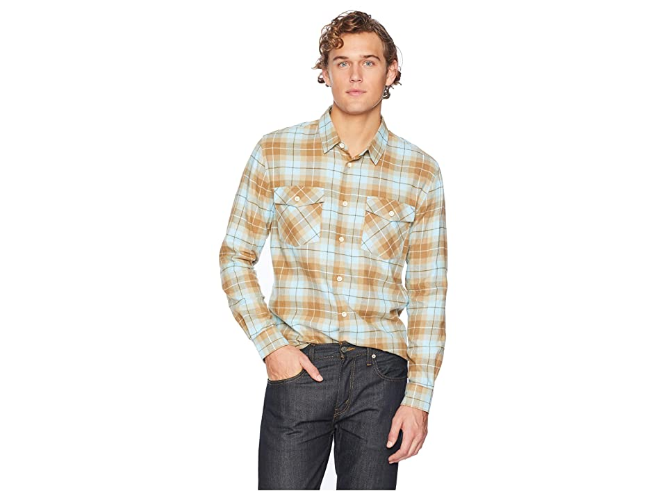 Quiksilver Waterman Wade Creek Long Sleeve Flannel Shirt (Ermine) Men
