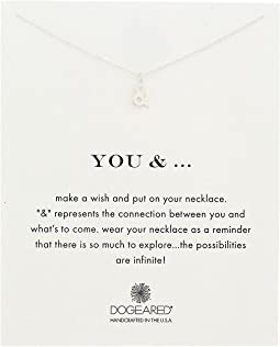 Dogeared - You and Ampersand Reminder Necklace