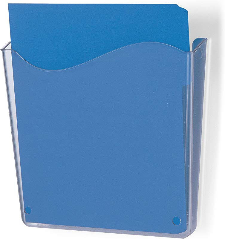 Officemate Unbreakable Wall File Vertical Clear 21674