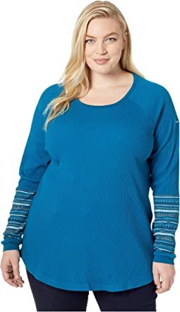 Plus Size Along The Gorge™ Printed Crew