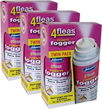 3 X Johnson's Veterinary Flea Killer Bomb Room Fogger Multi pack