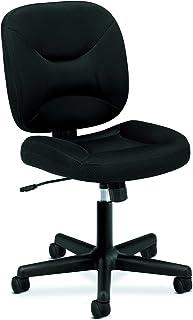 HON ValuTask Low Back Task Chair - Mesh Computer Chair for Office Desk, Black (HVL210)