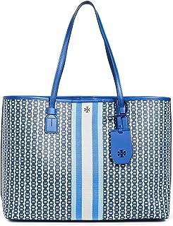 Tory Burch Womens Tote Bag, Bondi Blue Gemini - 53303