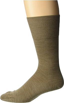 Merino Airport Crew Socks with Cotton Lining