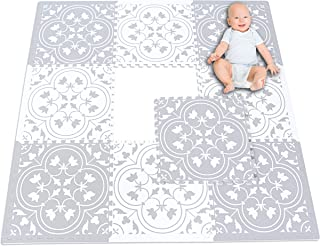 Eggyo Premium Stylish Foam Baby Mat, 72 by 72 Inches, Mix and Match
