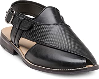 Franco Leone Black Men's Sandals