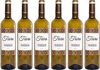 Tiara 100% Verdejo. Vino Blanco. Vino de la Tierra de Castilla y León. Rueda. Pack 6 botellas