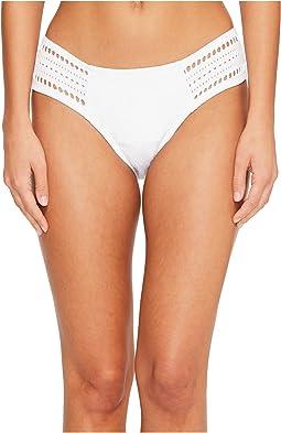 Robin Piccone - Clarissa Tab Side Crochet Bikini Bottom