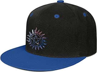Unisex Baseball Caps Supernatural-Art-Logo- Trucker Hat Adjustable Snapback Hats