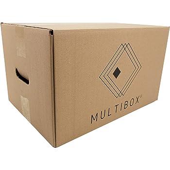 Cajas de cartón. Pack de 10 unidades. 60x40x26 cms: Amazon.es ...