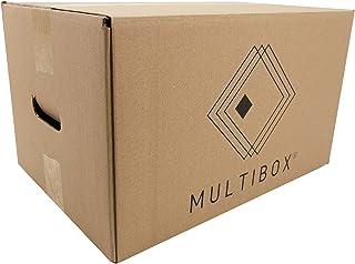 Pack 8 Cajas Cartón Mudanza y Almacenaje Con Asas Reforzado