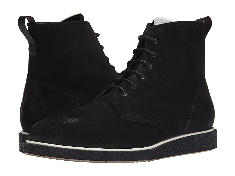 rag & bone Elliot Lace Boot (Black Waxy) Men