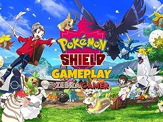 Clip: Pokemon Shield Gameplay - Zebra Gamer