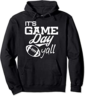 Football Hoodie, It's Game Day Yall, Fall Football Hoodie