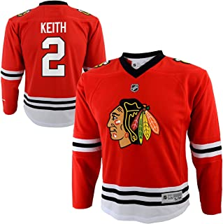 Duncan Keith Chicago Blackhawks #2 Red Youth Home Replica Jersey