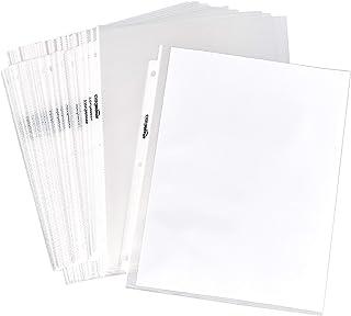 AmazonBasics Sheet Protector - Non-Glare, 100-Pack