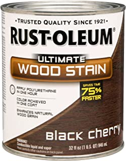 rustoleum black cherry stain