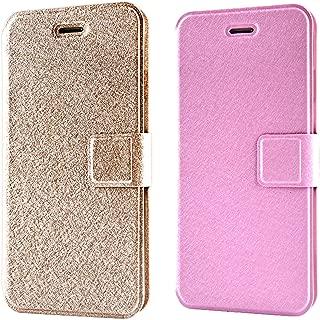 CaseHQ Wallet case for iPhone 8 Plus,iPhone 7 Plus,Magnetic Closure Credit Card Slot & Cash Holder Hand Strap Protective Case for iPhone 7 Plus/8 Plus 5.5