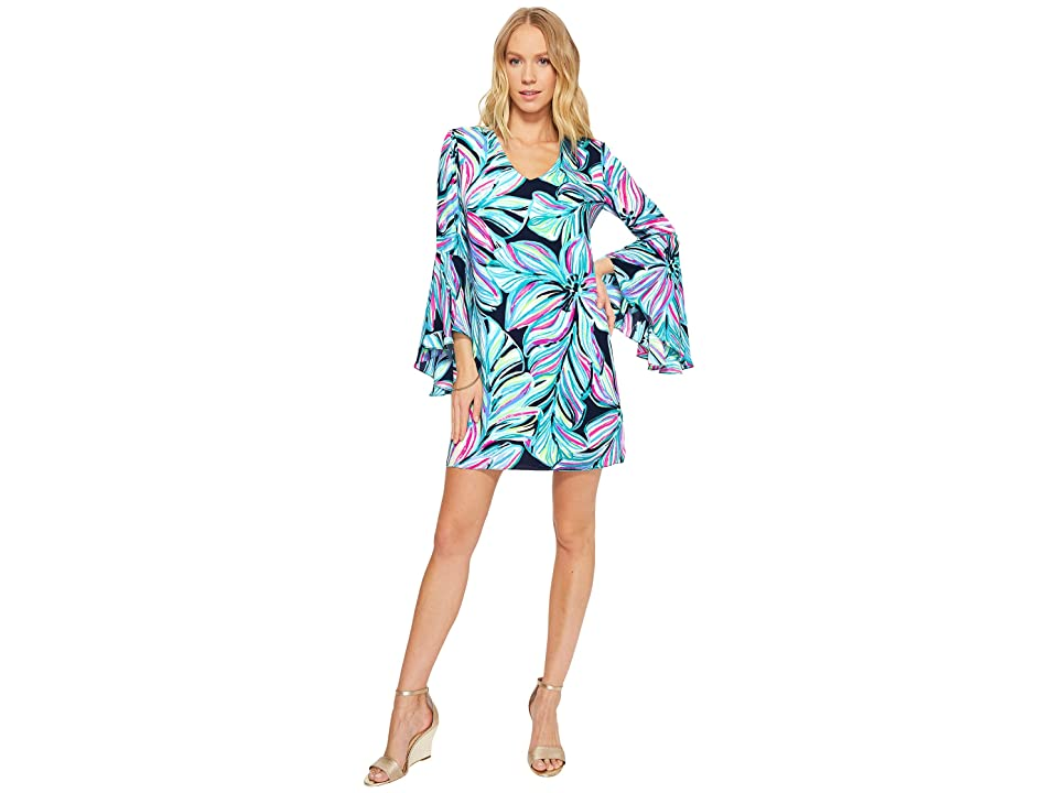 Lilly Pulitzer Rosalia Dress (High Tide Navy Dancing Lady) Women