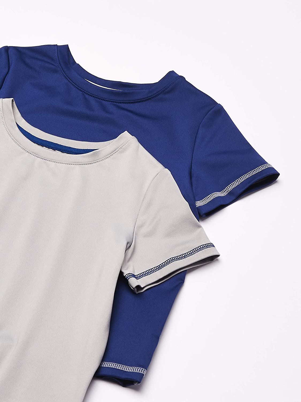 Essentials Boys 2-Pack Short-Sleeve Raglan Active Tee