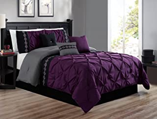purple gothic comforter