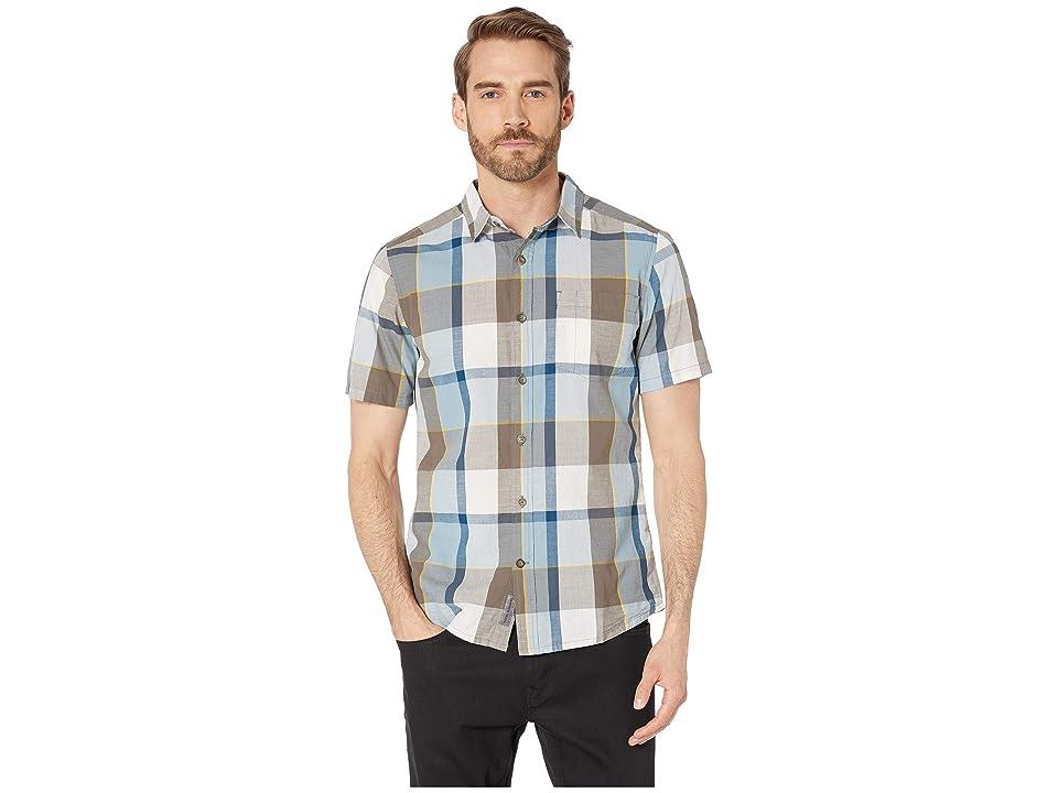 Royal Robbins Sawtooth Plaid Short Sleeve Shirt (Falcon) Men
