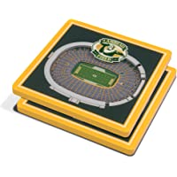 2-Pack YouTheFan NFL 3D Team StadiumViews 4x4 Coasters