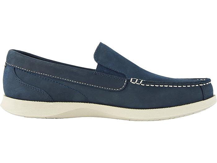 Nunn Bush Mens Bayside Venetian Slip-On Boat Shoe