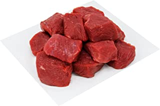 Australian Grass Fed Beef Topside Cube (Slow Pot Stew), 500g (Halal) - Chilled