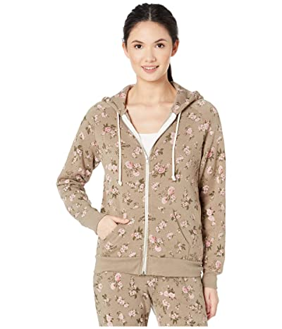 Alternative Printed Adrian Hoodie (Antique Wild Roses) Women