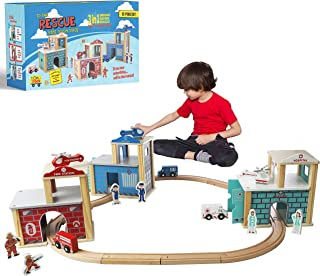Electric Cars Toy Set Flexible Train Race Track Vehicle Playset with Soldier and Other Animals Perfect Christmas /& Birthday Gift for Kids EDIONS 287Pcs Race Track Toys Train Set