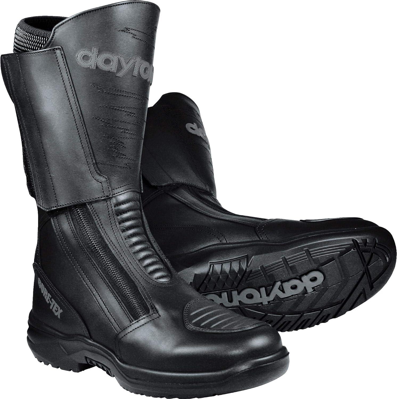 Daytona Boots Motorradschuhe Herren Damen Motorradstiefel Lang Traveller Gtx Herren Tourer Ganzjährig Leder Schuhe Handtaschen